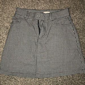 Brandy Melville Skirts - Brandy Melville plaid mini skirt